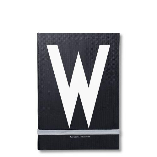 Personal Notizbuch W  Design Letters