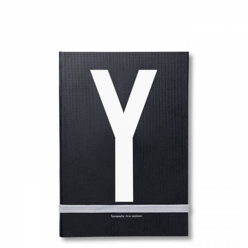 Personal Notizbuch Y  Design Letters