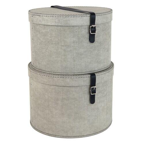Rut Hutschachtel 2er Set Bigso Box of Sweden Linen Canvas Bigso Box of Sweden