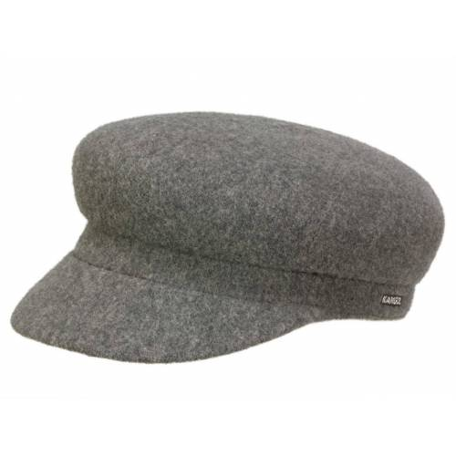 Kangol Wool Enfield Matrosenmütze aus Wolle, Grau (DF026) 60-61 cm (XL)