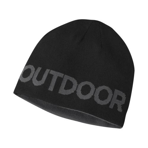 Outdoor Research Booster Beanie-black/charcoal-1size - Gr. 1size