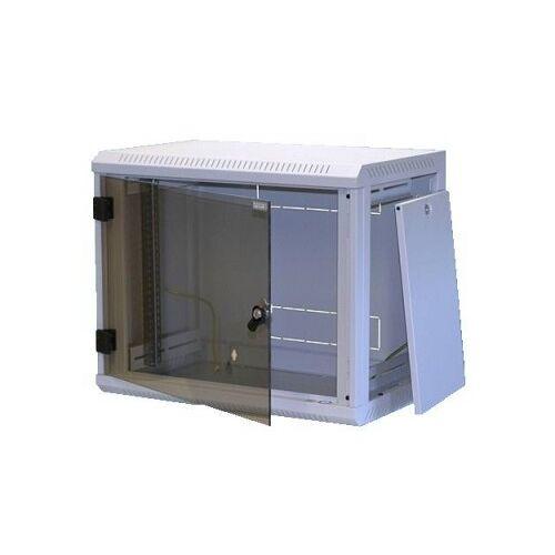 Triton kleiner Netzwerkschrank mit Glastür für 19 Zoll