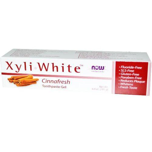 Now Foods, Xyliwhite Zahnpasta Gel, Cinnafresh, 6,4 oz (181 g)