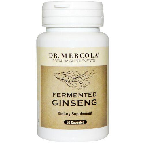Dr. Mercola Fermented Ginseng (30 Capsules) - Dr. Mercola
