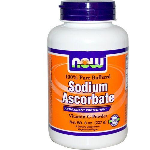 Now Foods, Natriumascorbat Puder (227 g)