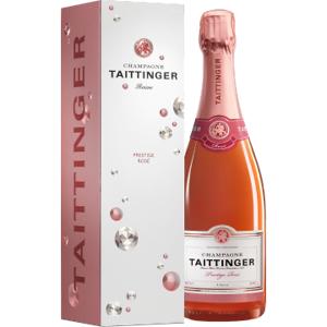 CHAMPAGNE TAITTINGER TAITTINGER BRUT PRESTIGE ROSE CHAMPAGNER- MIT ETUI DIAMANT