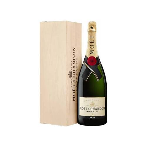 MOET & CHANDON  CHAMPAGNE MOET & CHANDON CHAMPAGNER  BRUT IMPÉRIAL - MAGNUM IN HOLZKISTE