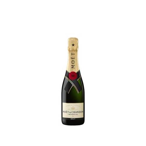 MOET & CHANDON  CHAMPAGNE MOET & CHANDON CHAMPAGNER - BRUT IMPÉRIAL - HALBE FLASCHE