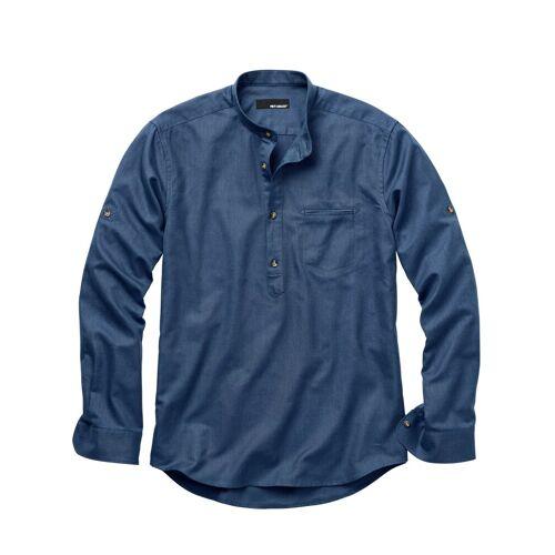 Mey & Edlich Herren Hemd Zunfthemd blau 38, 39, 40, 41, 42, 43, 44, 45, 46