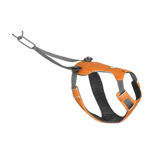 Ruffwear Omnijore™ Joring System Zuggeschirr für Hunde, L/XL, Brustgeschirr 81-107 cm, Orange Poppy