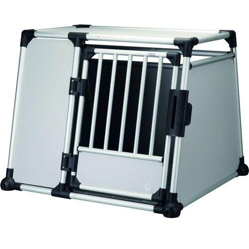Trixie Hundebox Alubox Autobox für Hunde, L–XL: Breite 94 × Höhe 75 × Tiefe 88 cm