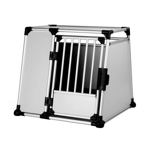 Trixie Hundebox Alubox Autobox für Hunde, XL: Breite 94 × Höhe 87 × Tiefe 93 cm