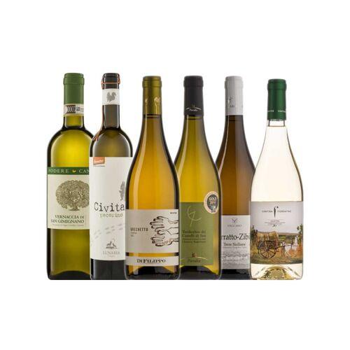 Probierkisten Bio- Weißweinkiste Italien / 6 Flaschen