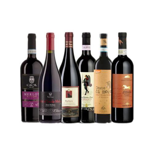 Probierkisten Bio- Rotweinkiste Italien / 6 Flaschen
