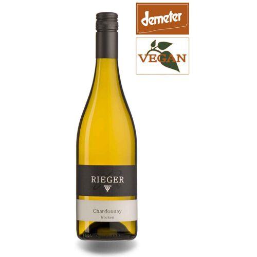 Rieger Chardonnay QbA Baden 2018 Weißwein Bio