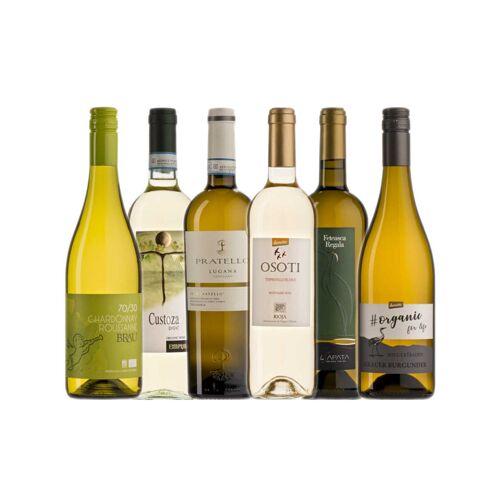 Probierkisten Bio- Weißweinkiste Europa / 6 Flaschen