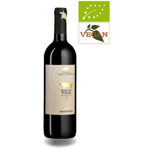 Poderi di Ghiaccioforte Rosso dei Poderi IGT Maremma Toscana 2017 Rotwein Biowein
