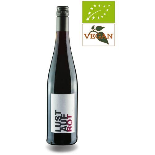 Rieger Lust auf Rot Rotweincuvée feinherb QbA Baden 2017 Rotwein Bio