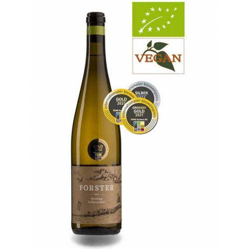Forster Riesling halbtrocken QbA Nahe 2019 Weißwein Bio