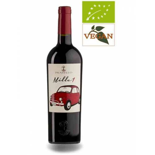 Azienda Agricola Pratello Pratello Mille 1 , Vino 2018 Rotwein Bio