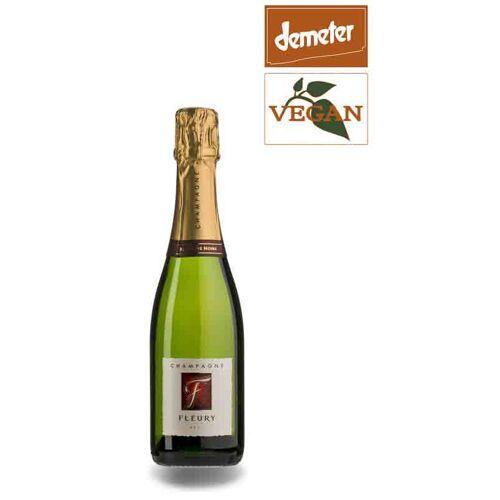 Fleury PERE & FILS Champagne Fleury Blanc de Noir Bio kleine Flasche 0,375l