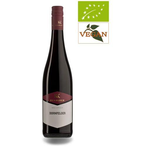 Klaus Knobloch Knobloch Dornfelder mild QbA 2019 Knobloch, Rotwein Biowein
