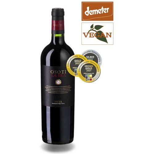 Viñedos Ruiz Jiménez Osoti Rioja Vina La Era, DO Rioja 2015 Rotwein Biowein