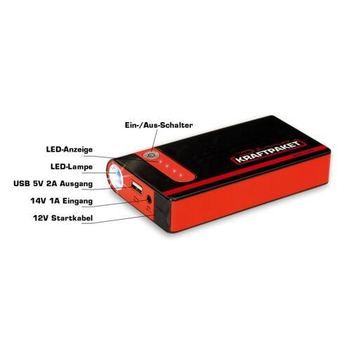 Raid Kraftpaket Powerbank Mit Starthilfefunktion 9.000 MAh   Raid