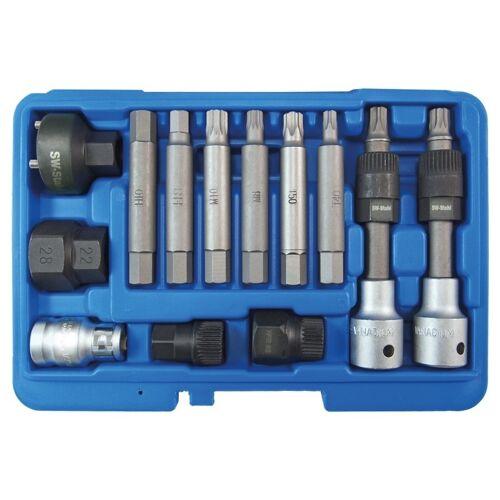 SW-Stahl Lichtmaschinen-Bitsatz 1/2 Zoll, 12-tlg.   SW-Stahl
