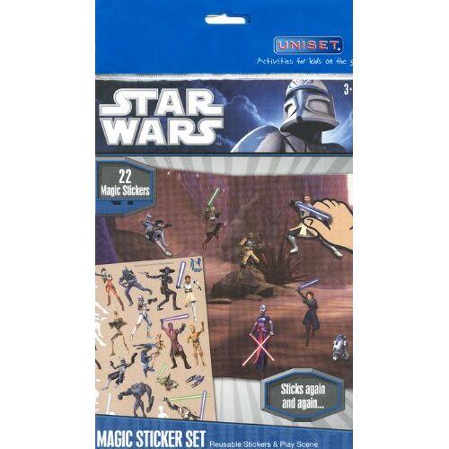 - 156543 - UNISET - Starwars - Sticker Set - Preis vom 13.10.2021 04:51:42 h