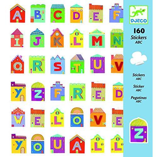 - 160 Sticker ABC Buchstaben - Preis vom 24.02.2021 06:00:20 h