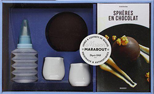 Christelle Huet-Gomez - Sphères en chocolat : Avec 1 sphère en silicone, 2 pots à lait, 1 poire à garnir - Preis vom 23.10.2021 04:56:07 h