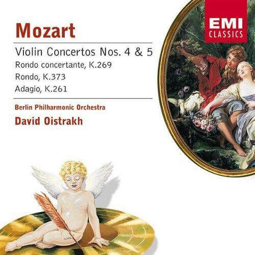 Oistrakh - Mozart:Violin Conc 4&5/Rondo - Preis vom 19.06.2021 04:48:54 h