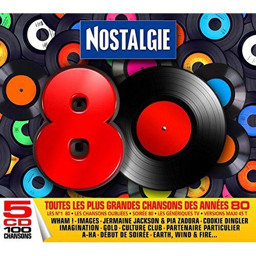 Various - Nostalgie 80 - Preis vom 13.10.2021 04:51:42 h