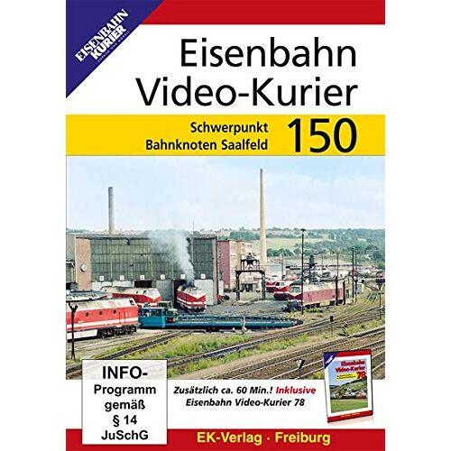 - Eisenbahn Video-Kurier 150 - Schwerpunkt Bahnknoten Saalfeld - Preis vom 06.09.2021 04:53:38 h