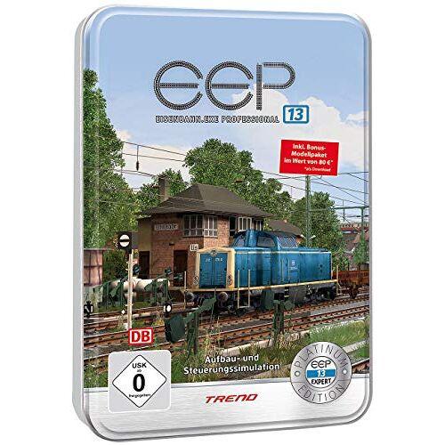 EEP - EEP Eisenbahn-Simulator: Eisenbahn.exe 13 Platinum in dekorativer Metall-Reliefbox (Eisenbahnexe) - Preis vom 15.09.2021 04:53:31 h