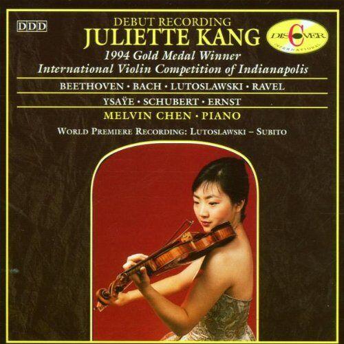 J Kang - Werke für Violine und Klavier - Preis vom 13.06.2021 04:45:58 h