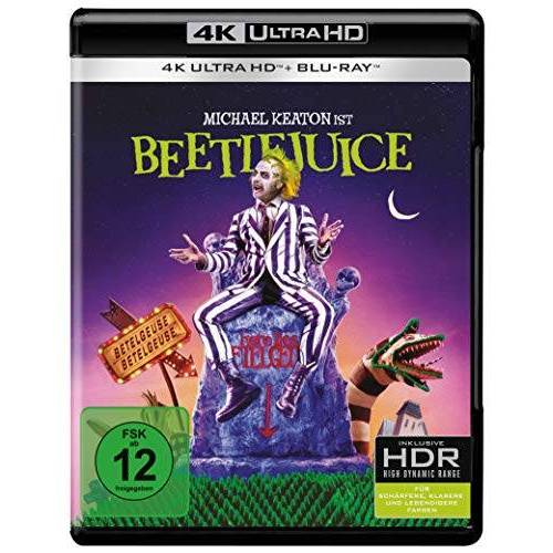 Tim Burton - Beetlejuice (4K Ultra HD) (+ Blu-ray 2D) - Preis vom 13.06.2021 04:45:58 h