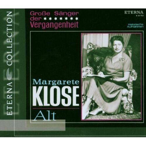 M. Klose - Margarete Klose-Grosse Sänger - Preis vom 21.06.2021 04:48:19 h