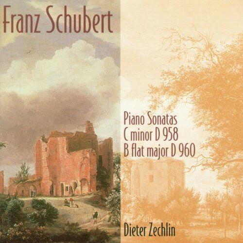 Dieter Zechlin - Klaviersonaten D 958 und D 960 - Preis vom 19.06.2021 04:48:54 h