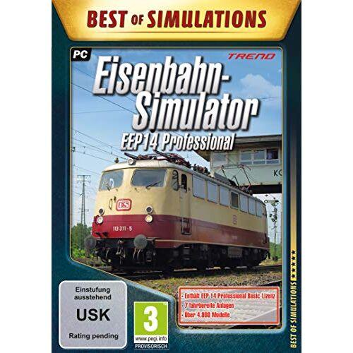 Astragon - Eisenbahn-Simulator - EEP14 Professional - Preis vom 11.10.2021 04:51:43 h