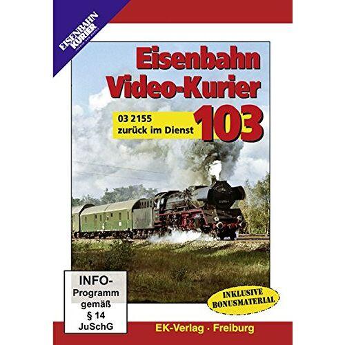 - Eisenbahn Video-Kurier 103 - 03 2155 zurück im Dienst - Preis vom 23.09.2021 04:56:55 h
