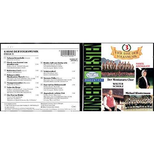 12 Div. Volksmusik-Gruppen - 4 Asse der Volksmusik 3 - Preis vom 21.06.2021 04:48:19 h