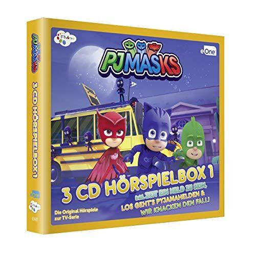 PJ Masks - PJ Masks-Pyjamahelden Hörspielbox 1 (3cds) - Preis vom 13.06.2021 04:45:58 h