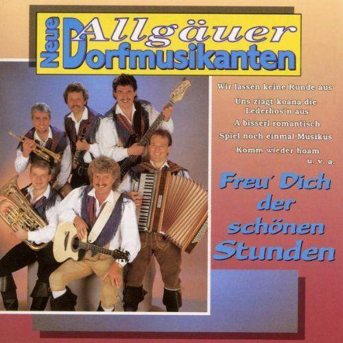Neue Allgäuer Dorfmusikanten - Freu' Dich der Schönen Stunde - Preis vom 13.06.2021 04:45:58 h