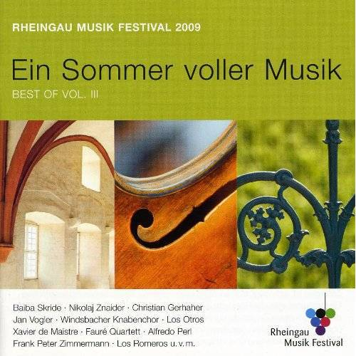 Various - Rheingau Musik Festival Festival CD 2009 - Preis vom 28.07.2021 04:47:08 h