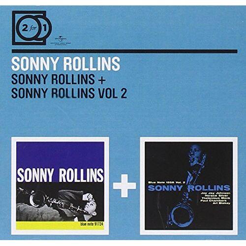 Sonny Rollins - 2 for 1: Sonny Rollins/Sonny Rollins Vol.2 - Preis vom 14.06.2021 04:47:09 h