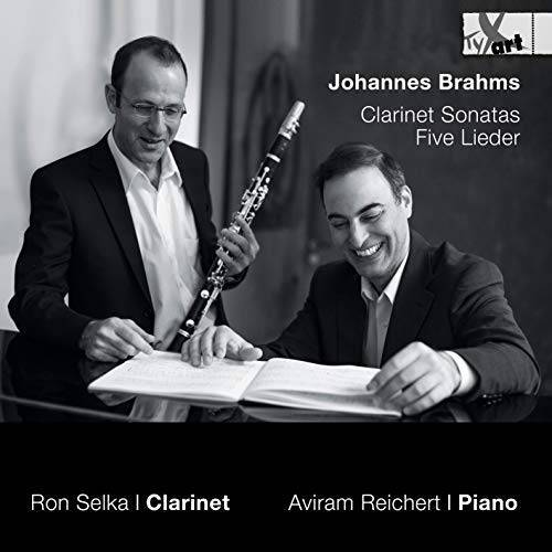 Ron Selka (Klarinette) - Klarinettensonaten Op. 102 Nr. 1 & 2; 4 Lieder Nr. 105 - Preis vom 11.10.2021 04:51:43 h