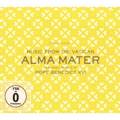 Musik aus dem Vatikan - Alma Mater - Musik aus dem Vatikan mit Papst Benedikt XVI / Deluxe CD+DVD Version - Preis vom 09.06.2021 04:47:15 h