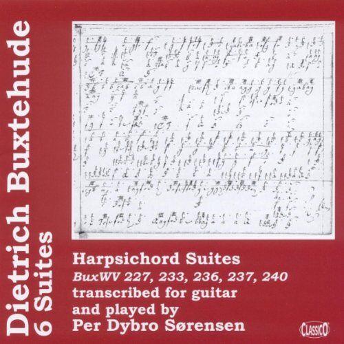 Dietrich Buxtehude - Buxtehude - (6) Harpsichord Suites Transcribed for Guitar [UK Import] - Preis vom 18.06.2021 04:47:54 h